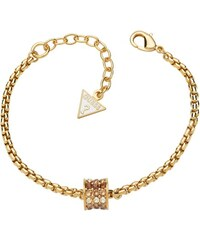 Guess Goldfarbenes Armband G Rounds Swarovski UBB71549