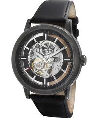 Schwarze Automatikuhr Skeleton Kenneth Cole KC1632
