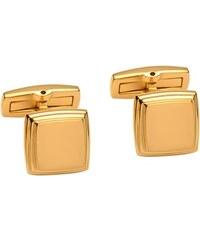 Unique Jewelry Vergoldete Manschettenknöpfe Edelstahl QC0076