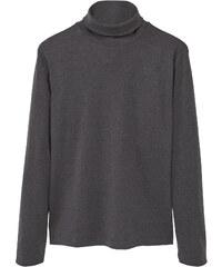 MANGO MAN Baumwoll-Shirt Mit Rollkragen