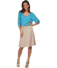 Comptoir du Lin Dámská sukně MILENA BEIGE
