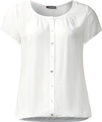Street One - Blouse oil-washed Hazel - blanc