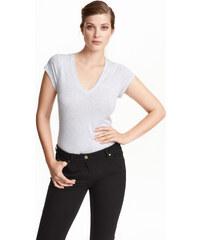 H&M Tričko z bavlny pima