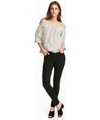 H&M Kalhoty s vysokým pasem