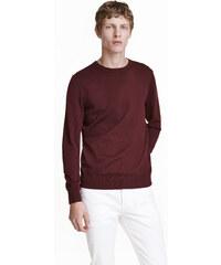 H&M Jemně pletený bavlněný svetr