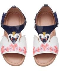 H&M Sandály s výšivkou