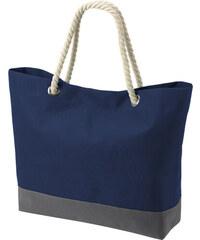 Prostorná taška s dekorativním uchem - Námořní modrá univerzal