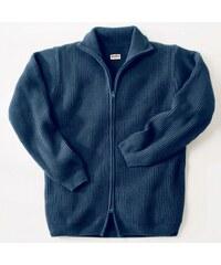 Noblex Blancheporte Gilet zippé côte anglaise laine