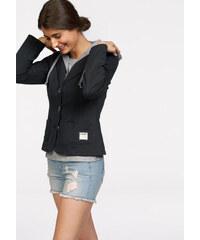 KANGAROOS Sportovní blazer Kangaroos černá/šedý melír - Normální délka (N)