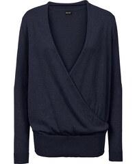 BODYFLIRT Zavinovací pulovr bonprix