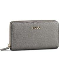 Velká dámská peněženka LIU JO - Zip Around Xxl Anna A66079 E0087 Gun Metal 90011