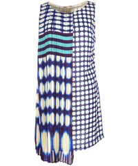 Derhy Biscotin - Robe courte - bleu