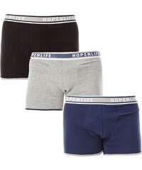 Hope N Life Lot de 3 boxers - tricolore