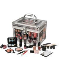 Makeup Trading Schmink Set Transparent dárková sada W - Complete Makeup Palette Kazeta dekorativní kosmetiky