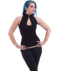 tílko dámské NECESSARY EVIL - Shala Keyhole - Black - N1176