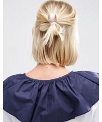 ASOS - Haarband mit glattem Kugeldesign - Cremeweiß