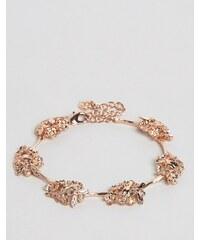 Bill Skinner - Bracelet à fleurs - Doré