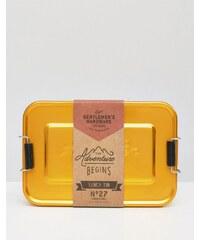 Gentlemen's Hardware - Brotdose aus Messing - Mehrfarbig