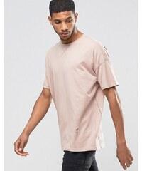 Religion - T-shirt oversize ras du cou à emmanchures basses - Rose