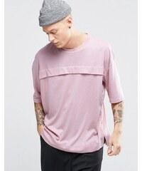 Sixth June - T-shirt avec poche sur le devant - Rose