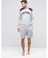 Tommy Hilfiger - Short confort à motif color block - Gris