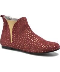 Ippon Vintage - Patch gold - Stiefeletten & Boots für Damen / weinrot