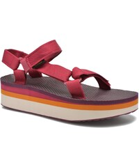 Teva - Flatform Universal Retro - Sandalen für Damen / rosa