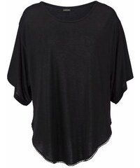 Lascana Damen Strandshirt schwarz 32/34,36/38,40/42,44/46,48/50,52/54