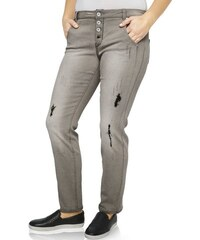 Damen Boyfriend-Jeans B.C. BEST CONNECTIONS grau 34,36,38,40,42,44,46,48,50,52
