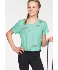 adidas Performance T-Shirt ATHLETICS LINEAGE TEE AOP grün 128 (122),140 (134),152 (146)