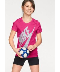 NIKE SPORTSWEAR Sportswear T-Shirt COTTON SHORT SLEEVE VNECK BM YOUTH rosa L (146/152),M (134/140),S (122/128),XL (158/164),XS (110/116)
