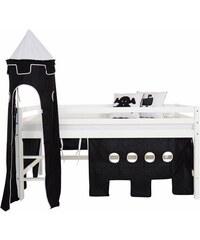 Kinder HOPPEKIDS Vorhang-Set Pirat (4-tlg.) schwarz
