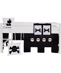Kinder Vorhang-Set Pirat (4-tlg.) HOPPEKIDS schwarz