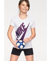 NIKE SPORTSWEAR Sportswear T-Shirt COTTON SHORT SLEEVE VNECK BM YOUTH weiß L (146/152),M (134/140),S (122/128),XL (158/164),XS (110/116)