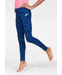 NIKE SPORTSWEAR Sportswear Leggings NSW LEGGING AOP blau L (158/164),M (146/152),S (134/140),XL (170/176)