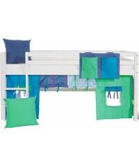Kinder Vorhang-Set Multicolor (4-tlg.) HOPPEKIDS blau