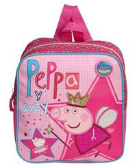 Azzar dětský batůžek Peppa Pig Víla růžový polyester 25 x 24 x 10 cm