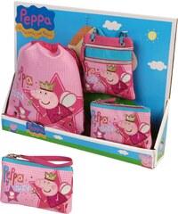 Azzar Dárková sada Peppa Pig Víla růžová polyester 60 x 40 x 8 cm