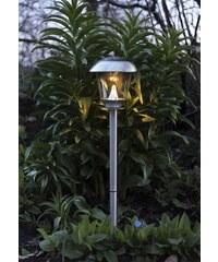 Star Trading Zahradní světlo na solární napájení Steel 66 cm