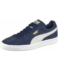 Große Größen: PUMA Sneaker »Suede Classic+«, dunkelblau-weiß, Gr.37-46