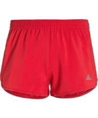 adidas Performance MARATHON kurze Sporthose ray red /matte silver