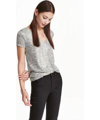 H&M Třpytivé tričko