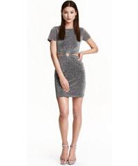 H&M Třpytivé šaty