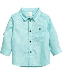H&M Košile z lněné směsi