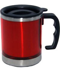 Kovový termohrnek - Červená univerzal