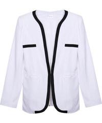 Lesara Taillierter Blazer - Weiß - S