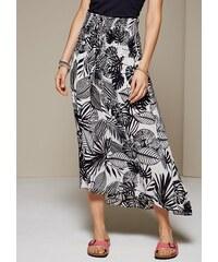 COMMA Aufregendes Sommerkleid mit verspieltem Alloverprint