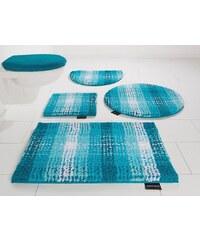 Badematte, Stand WC-Set, Bruno Banani, »Kyros«, Microfaser, Höhe 25 mm, rutschhemmender Rücken
