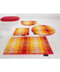 Badematte, Halbrund, Bruno Banani, »Kyros«, Microfaser, Höhe 25 mm, rutschhemmender Rücken