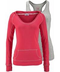 KangaROOS 2-in-1-Shirt (Set, 2 tlg., mit Top)
